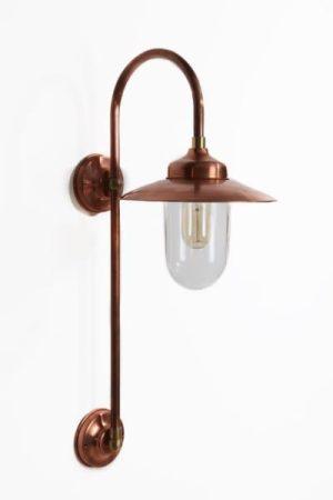 dennis wissink stallamp lang koper buitenlamp