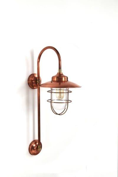 dennis wissink stallamp lang koper buitenlamp korf